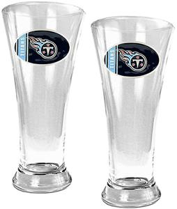 NFL Tennessee Titans 2 Piece Pilsner Glass Set