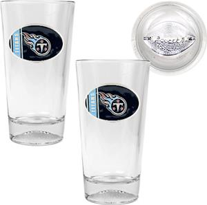 NFL Tennessee Titans 2 Piece Pint Glass Set