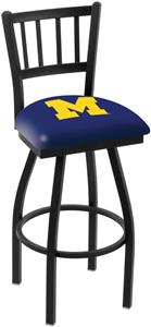 University of Michigan Jailhouse Swivel Bar Stool