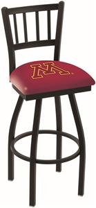 University of Minnesota Jailhouse Swivel Bar Stool