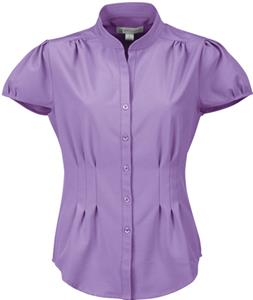 TRI MOUNTAIN Serena Women&#39;s Woven Open Neck Shirt