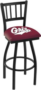 University of Montana Jailhouse Swivel Bar Stool