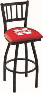 University of Nebraska Jailhouse Swivel Bar Stool