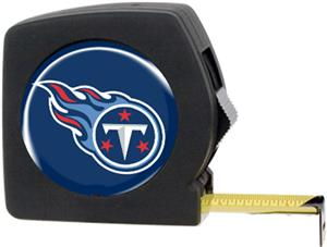 NFL Tennessee Titans 25' Tape Measure with Logo