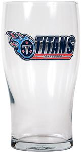 NFL Tennessee Titans 20 oz Pub Glass