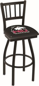 Univ Northern Illinois Jailhouse Swivel Bar Stool