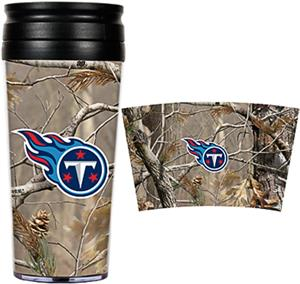 NFL Tennessee Titans 16oz Realtree Travel Tumbler