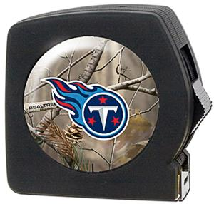 NFL Tennessee Titans 25' RealTree Tape Measure