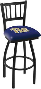 Univ of Pittsburgh Jailhouse Swivel Bar Stool