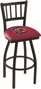 Univ of South Carolina Jailhouse Swivel Bar Stool