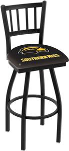 Southern Mississippi Jailhouse Swivel Bar Stool
