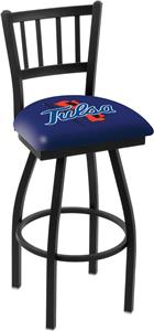 University of Tulsa Jailhouse Swivel Bar Stool
