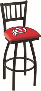University of Utah Jailhouse Swivel Bar Stool