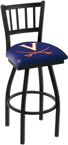 University of Virginia Jailhouse Swivel Bar Stool