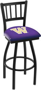Univ of Washington Jailhouse Swivel Bar Stool