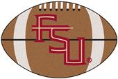 Fan Mats Florida State FSU Logo Football Mat