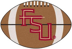Fan Mats Florida State FS Logo Football Mat