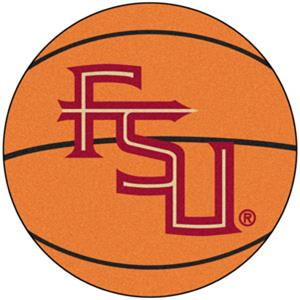 Fan Mats Florida State FS Logo Basketball Mat