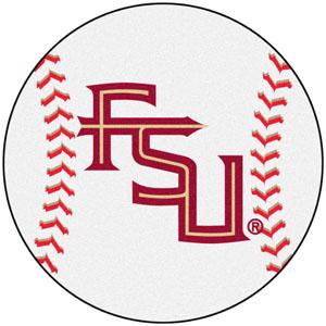 Fan Mats Florida State FL Logo Baseball Mat