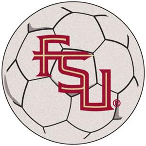 Fan Mats Florida State FSU Logo Soccer Ball