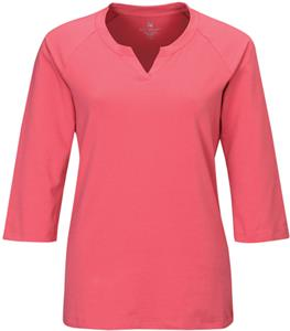 Lilac Bloom Sofia Women's Split Neck Knit Shirt