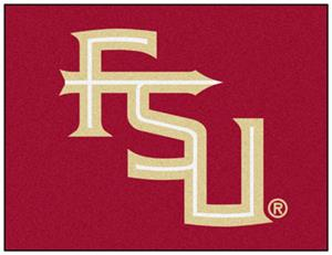 Fan Mats Florida State FL Logo All Star Mat