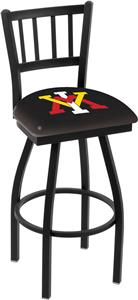 Virginia Military Inst Jailhouse Swivel Bar Stool