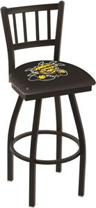 Wichita State Univ Jailhouse Swivel Bar Stool