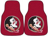 Fan Mats Florida State Univ Carpet Car Mats (set)