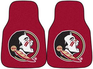 Fan Mats Florida State University Carpet Car Mats
