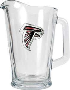 NFL Atlanta Falcons 1/2 Gallon Glass Pitcher