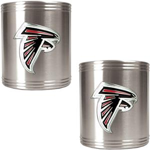 NFL Atlanta Falcons Stainless Steel Can Holders