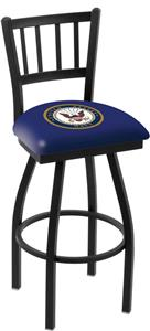 United States Navy Jailhouse Swivel Bar Stool