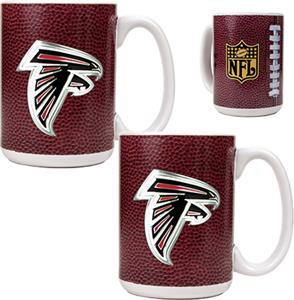 NFL Atlanta Falcons Gameball Mug (Set of 2)