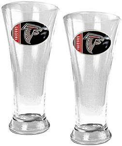 NFL Atlanta Falcons 2 Piece Pilsner Glass Set