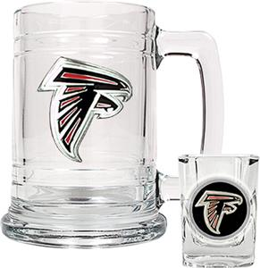 NFL Atlanta Falcons Boilermaker Gift Set