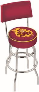Arizona State Univ Double-Ring Back Bar Stool