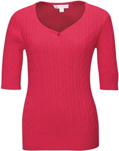 TRI MOUNTAIN Layla Women&#39;s Short Sleeve Sweater