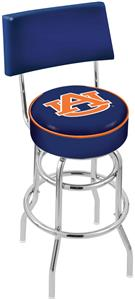 Auburn University Double-Ring Back Bar Stool