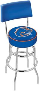 Boise State University Double-Ring Back Bar Stool