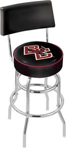 Boston College Double-Ring Back Bar Stool