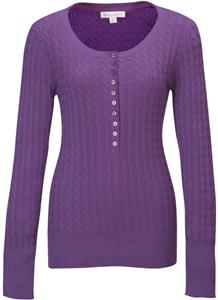 TRI MOUNTAIN Audrey Women&#39;s Henley Sweater