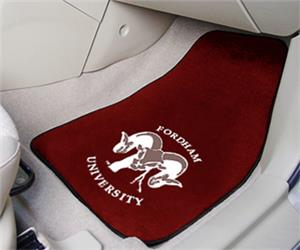 Fan Mats Fordham University Carpet Car Mats