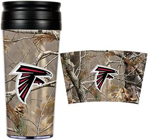 NFL Atlanta Falcons 16oz Realtree Travel Tumbler