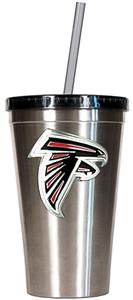 NFL Atlanta Falcons 16oz Tumbler with Straw