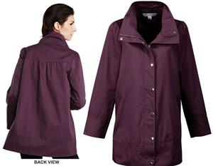 TRI MOUNTAIN Kate Women&#39;s Short Trench Coat