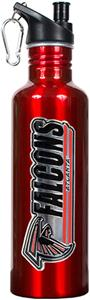 NFL Atlanta Falcons Red Stainless Water Bottle