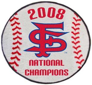 Fan Mats Fresno State 08 Championship Baseball Mat