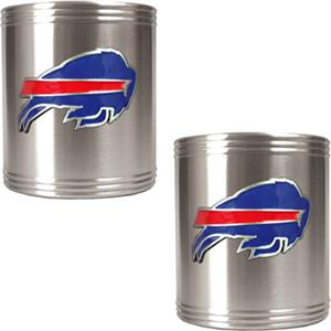 NFL Buffalo Bills Stainless Steel Can Holders