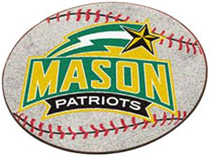 Fan Mats George Mason University Baseball Mat